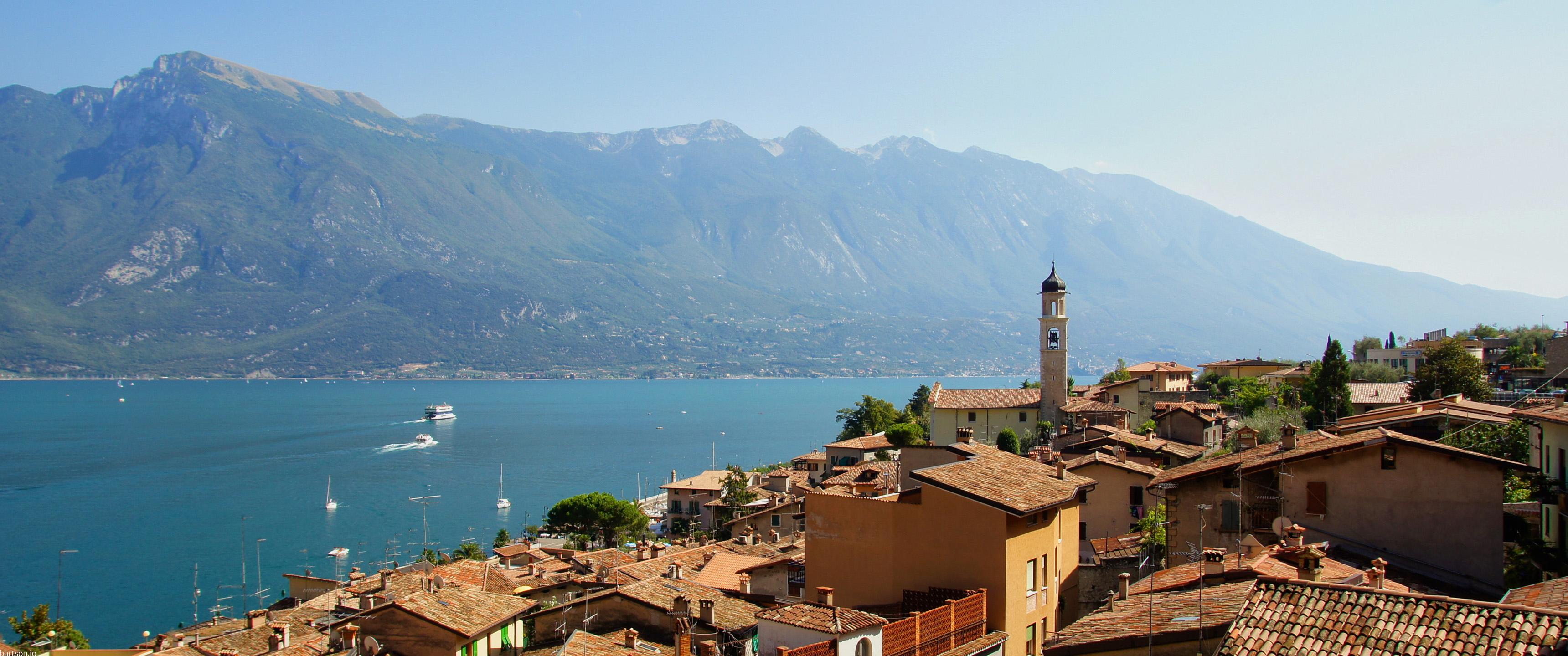 Lago di Garda 219 Wallpaper fr Ultrawide Monitore 3440x1440