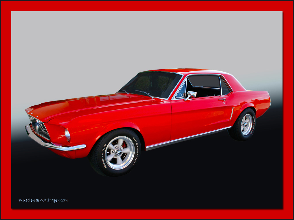 1968 ford mustang computer - photo #11