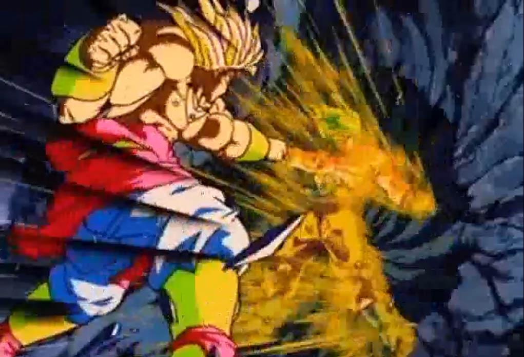 Goku vs Broly Wallpaper - WallpaperSafari