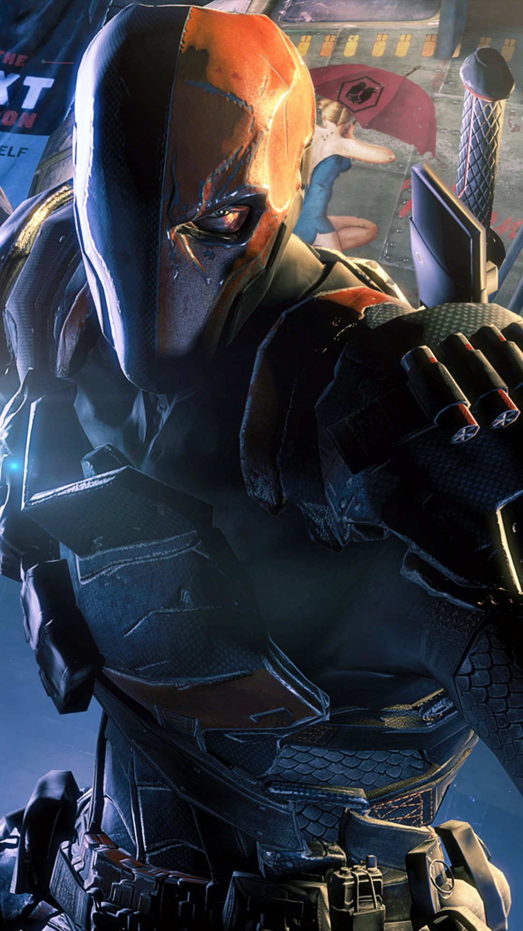 arkham origins deathstroke wallpaper wallpapersafari