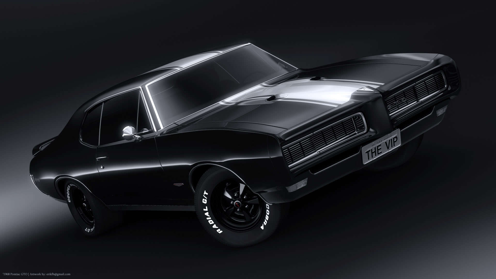 New car Pontiac GTO wallpapers and images 1920x1080