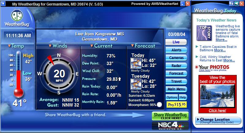 48 Live Weather Wallpaper Windows 10 On Wallpapersafari