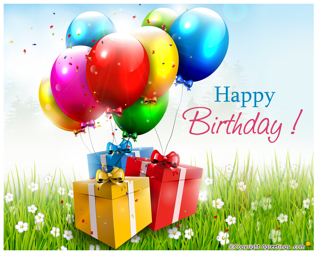 Birthday wallpapers of different sizes Wallpapers 1280x1024