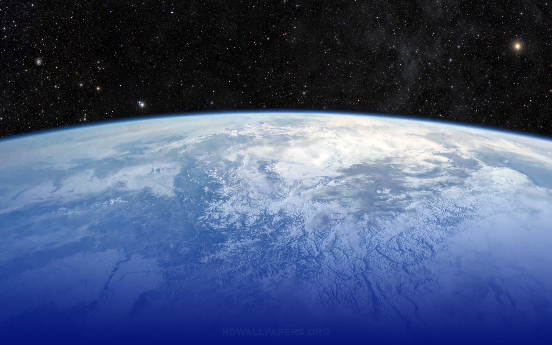 Earth Mountains From Space HD Wallpaper 1920x1200