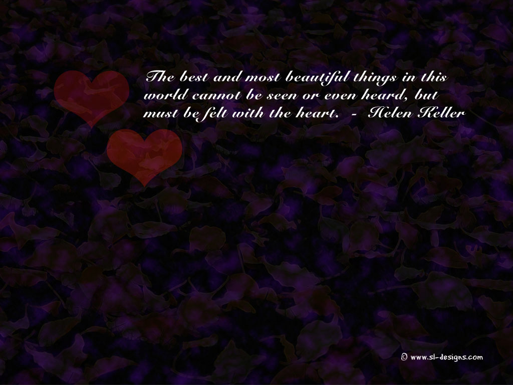 Love Quote on a wallpaper 1024x768