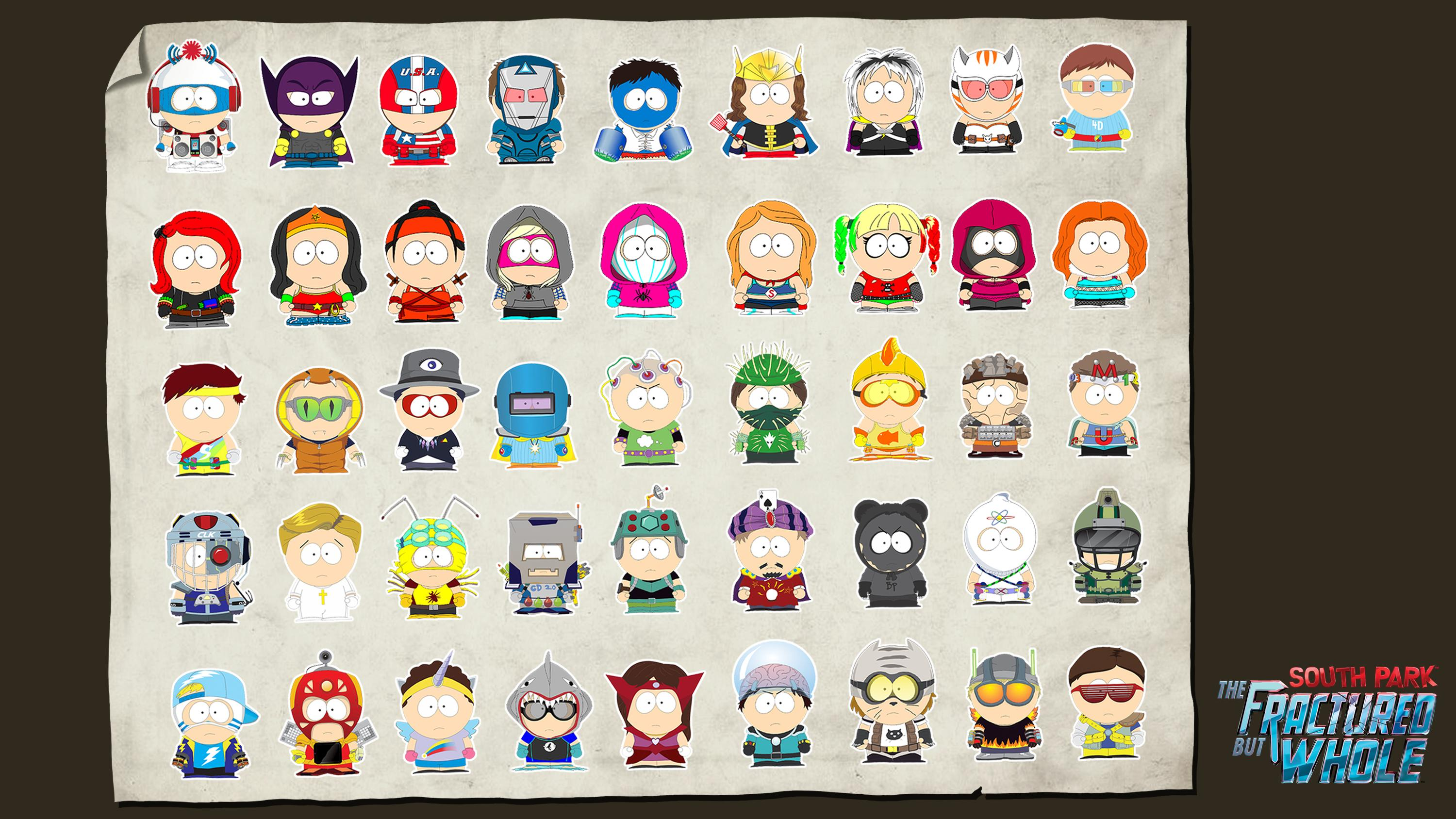 South Park Fractured But Whole Uplay Downloadable Wallpapers 3000x1688