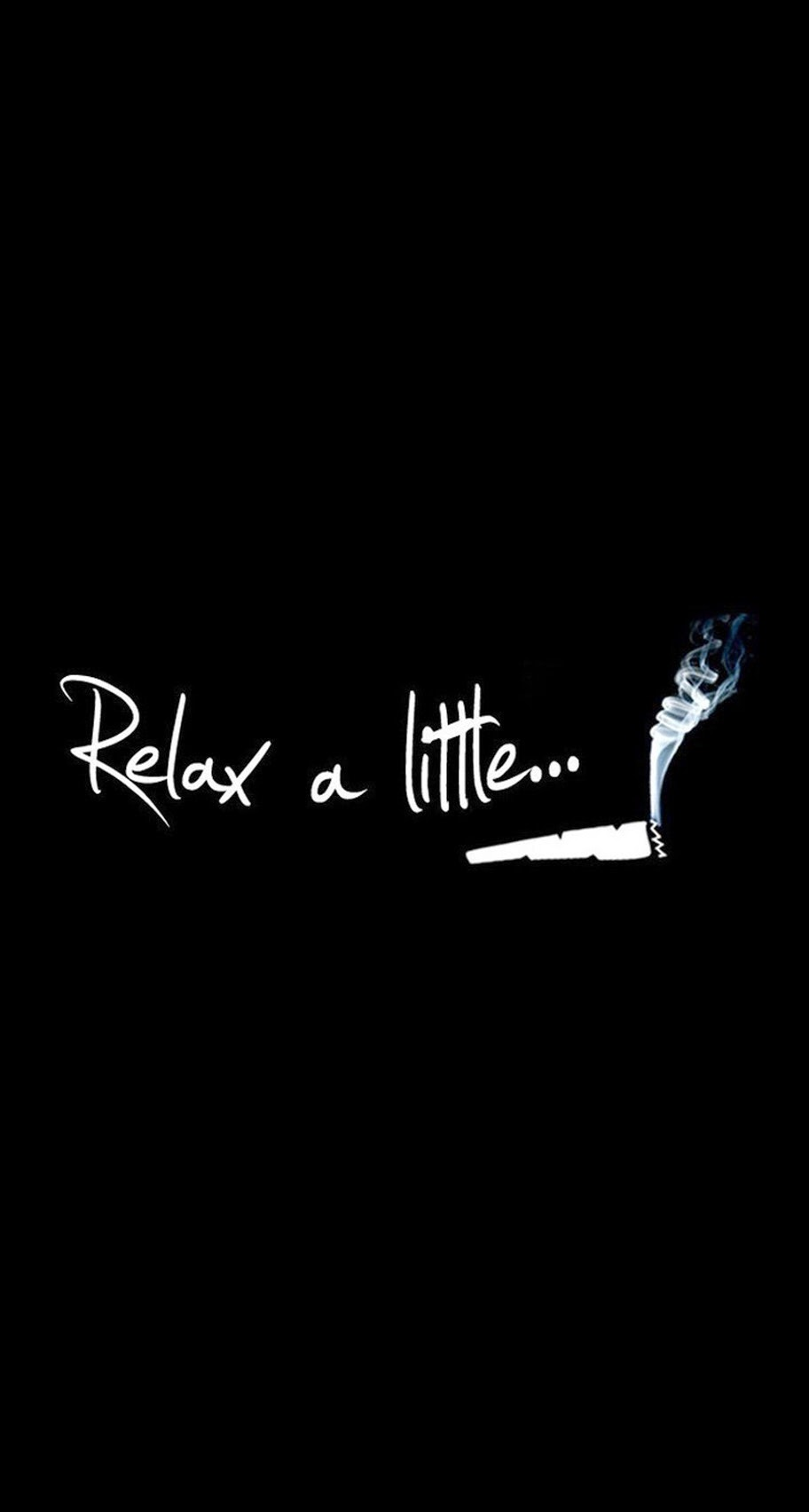 Hd wallpaper iphone 5 - Relax A Little Smoke Weed Iphone 6 Plus Hd Wallpaper