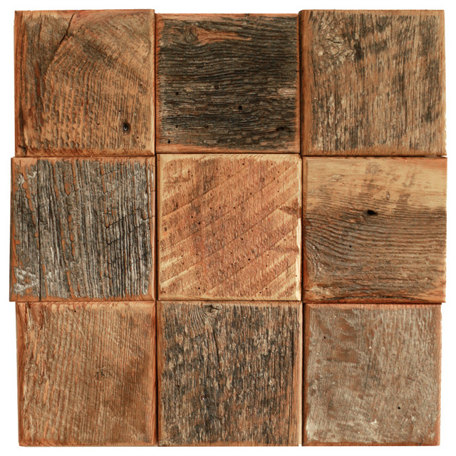 Weathered Wood Art Squares   Rustic   Wall Decor   by Grindstone 640x640