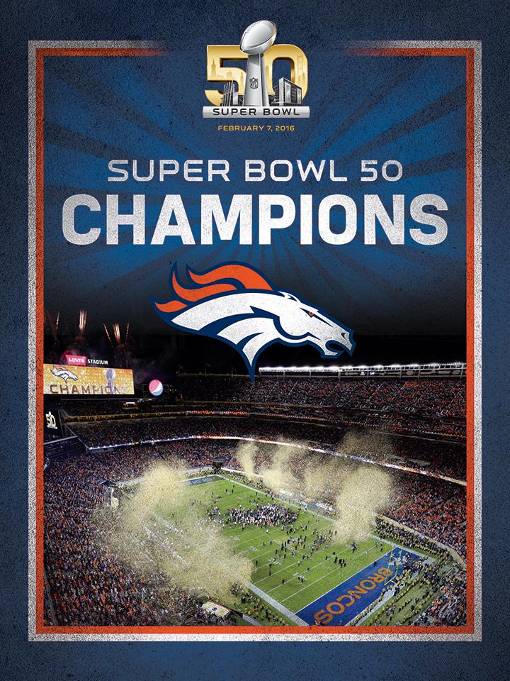 broncos super bowl 50 champion celebration 39 99 super bowl 50 720x960
