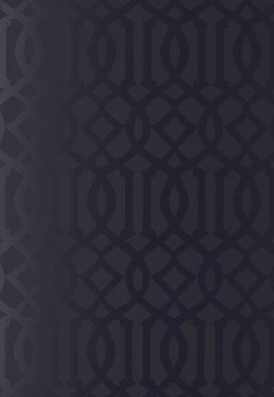 Imperial Trellis Wallpaper Onyx Gloss   Modern   Wallpaper   by F 398x575