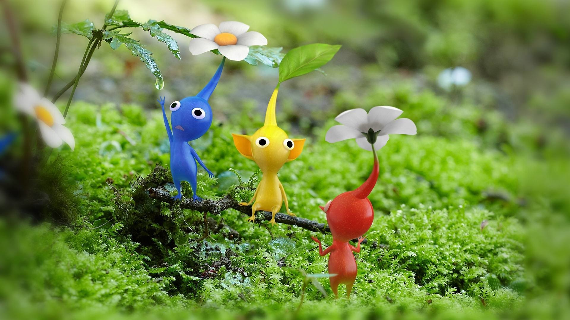 22 Pikmin HD Wallpapers Background Images 1920x1080