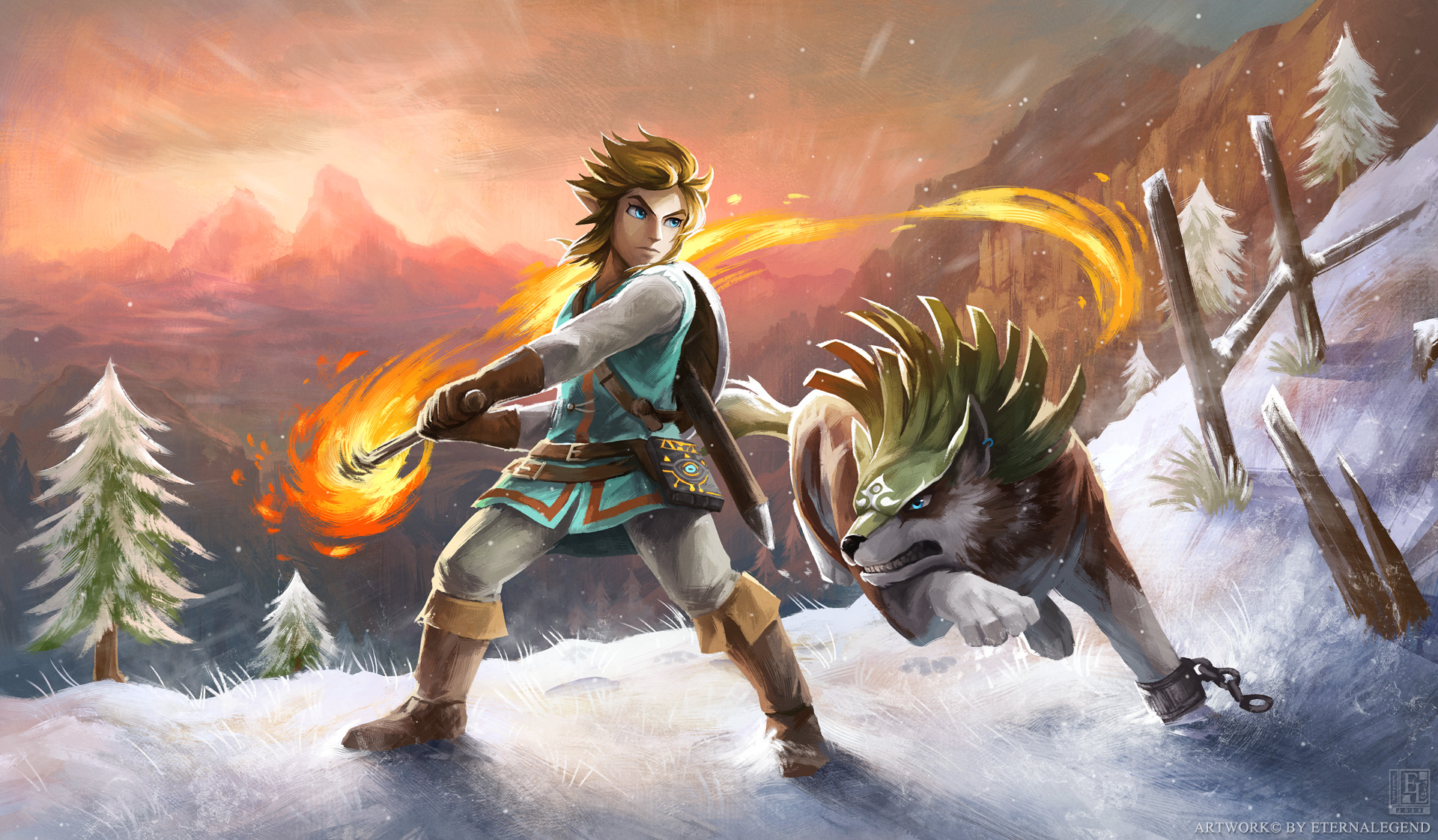 Free Download The Legend Of Zelda Breath Of The Wild Hd Wallpapers