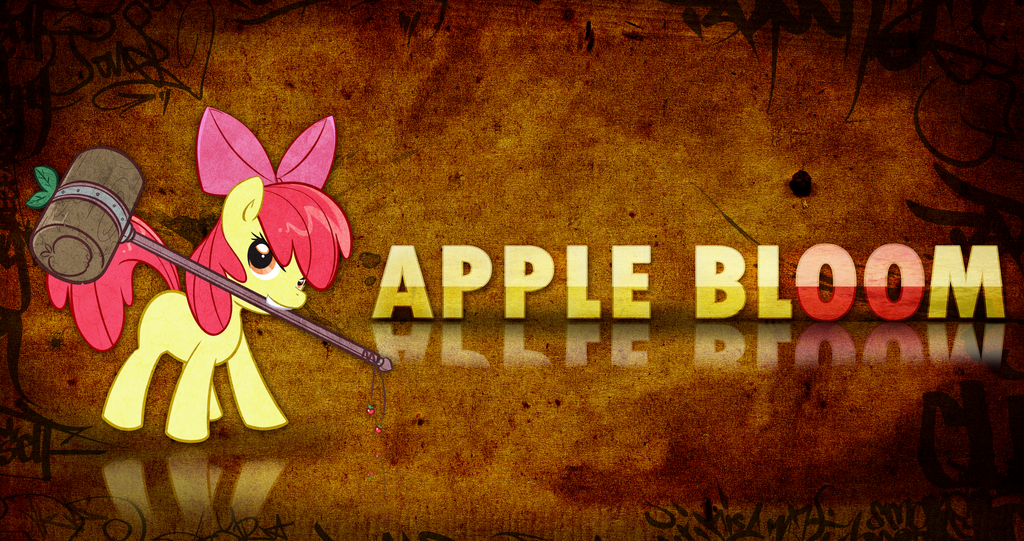 Apple Bloom Wallpaper by arkkukakku112 1024x541