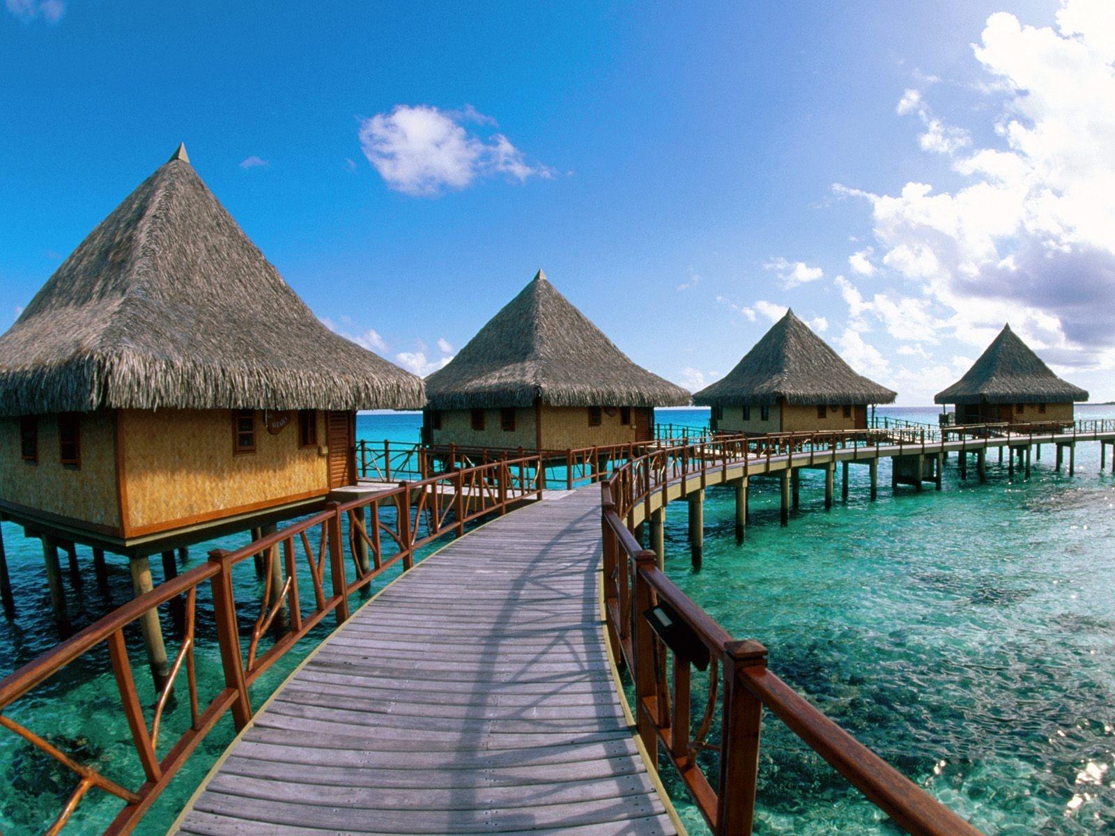 Bora Bora Beach Tourism Wallpaper   Travel HD Wallpapers 1600x1200