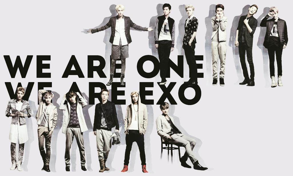EXO Wallpaper 1024x615