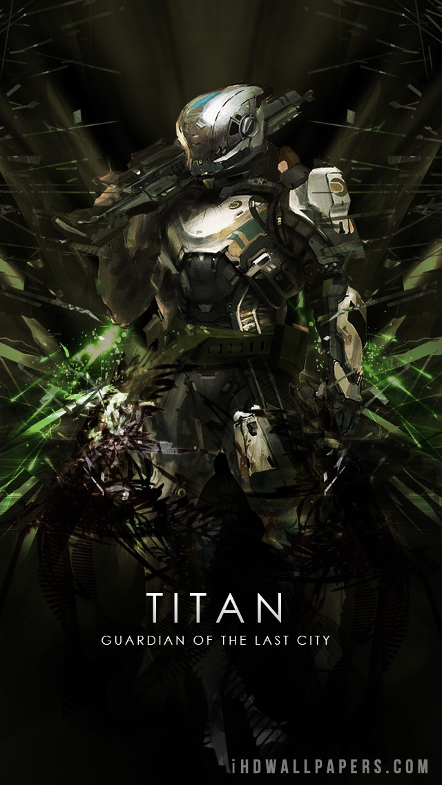 Destiny Titan iPhone Wallpaper - WallpaperSafari
