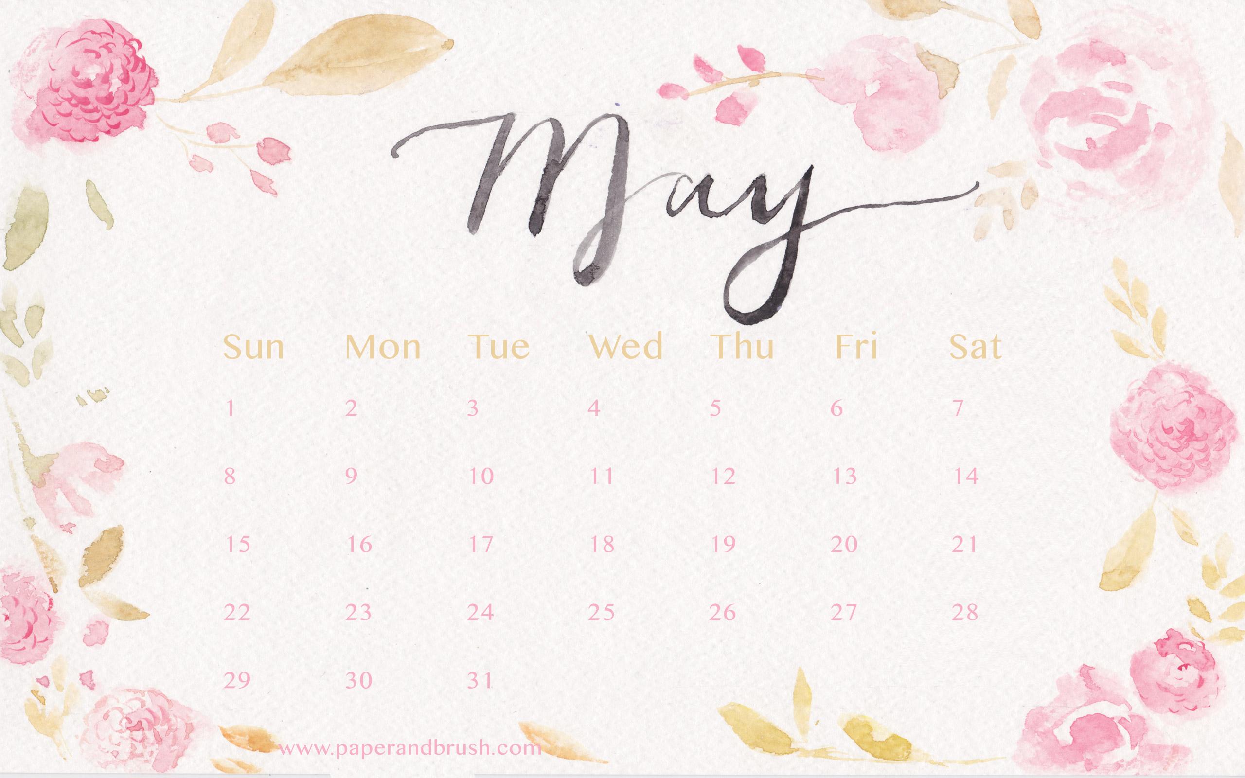 may 2016 wallpaper calendar wallpapersafari