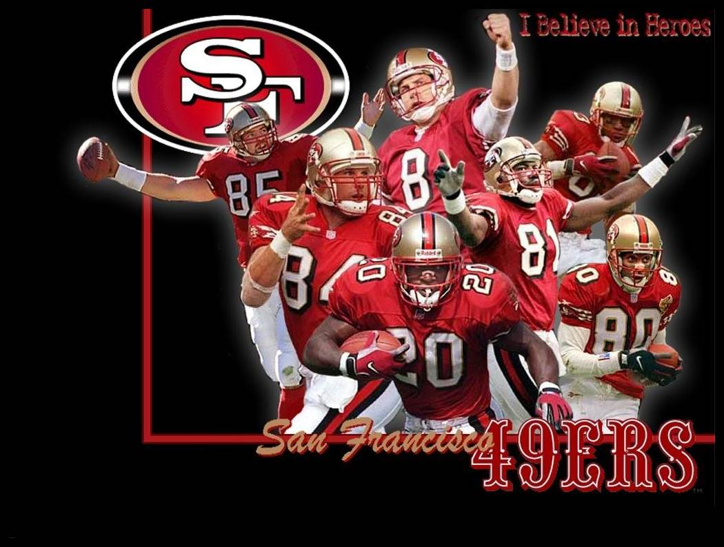 San Francisco 49ers NFL wallpapers 1050x794