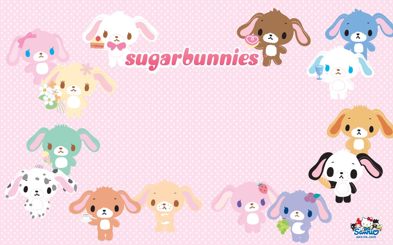 Wallpapers Sugar Bunnies vol 02   Le Coin Kawaii 1280x800
