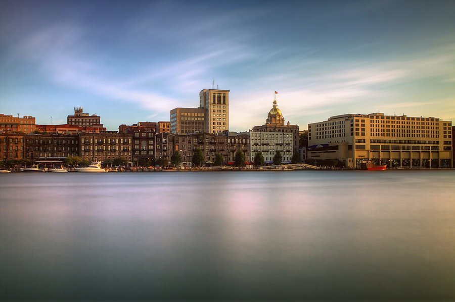 Savannah Skyline by Silicon640c 900x599