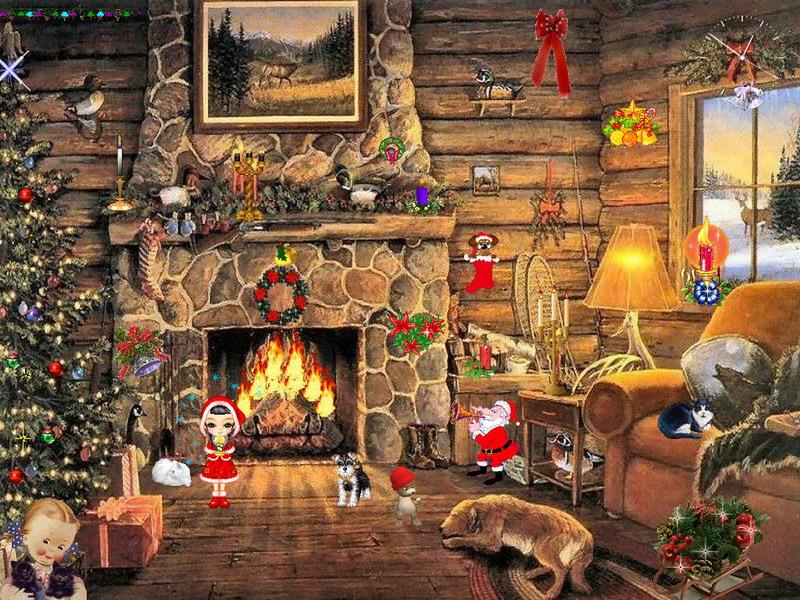 Christmas Screensaver   Christmas Paradise   FullScreensaverscom 800x600