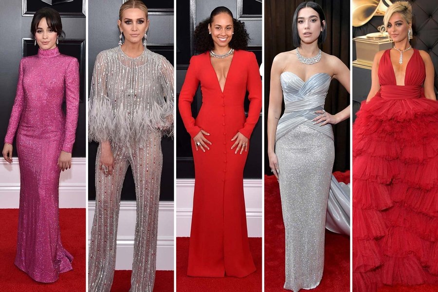 The Best Looks From the 61st Grammy Awards Departures 900x600