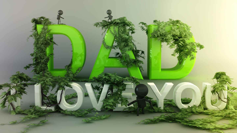 Love You Dad Wallpapers Desktop Background Wallpapers 1440x810