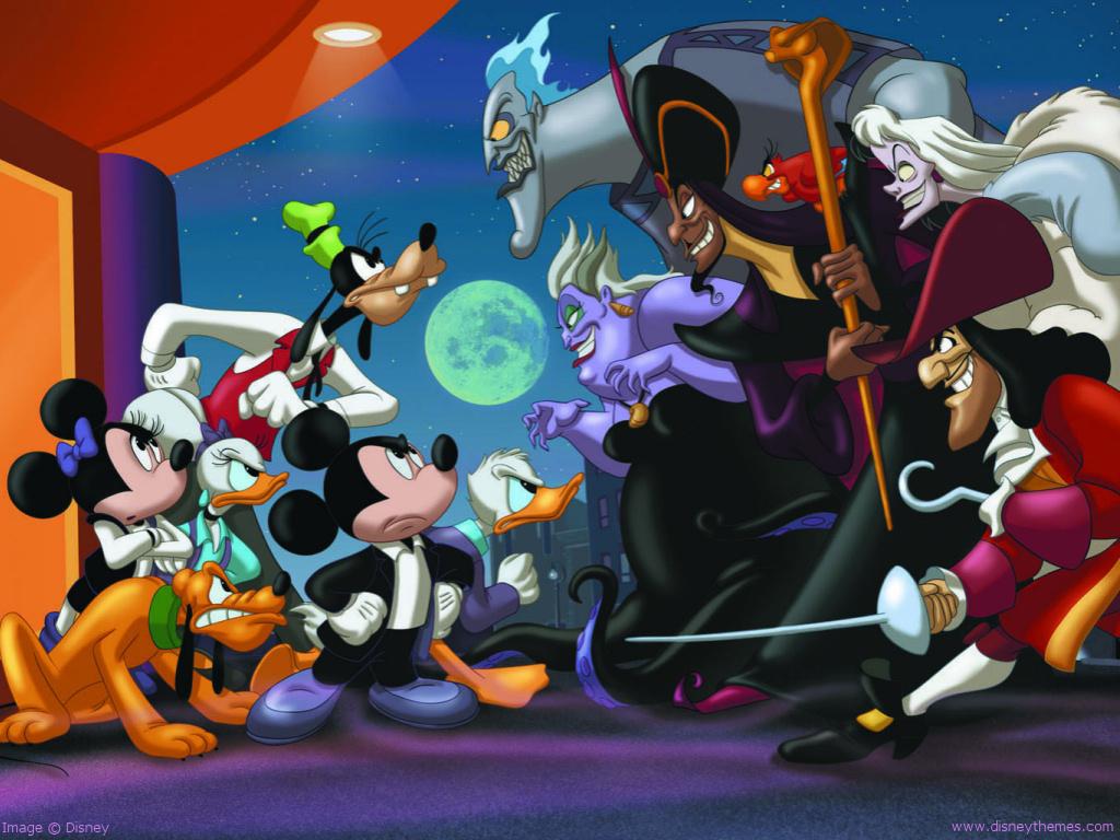 49 Disney Villains Wallpaper On Wallpapersafari