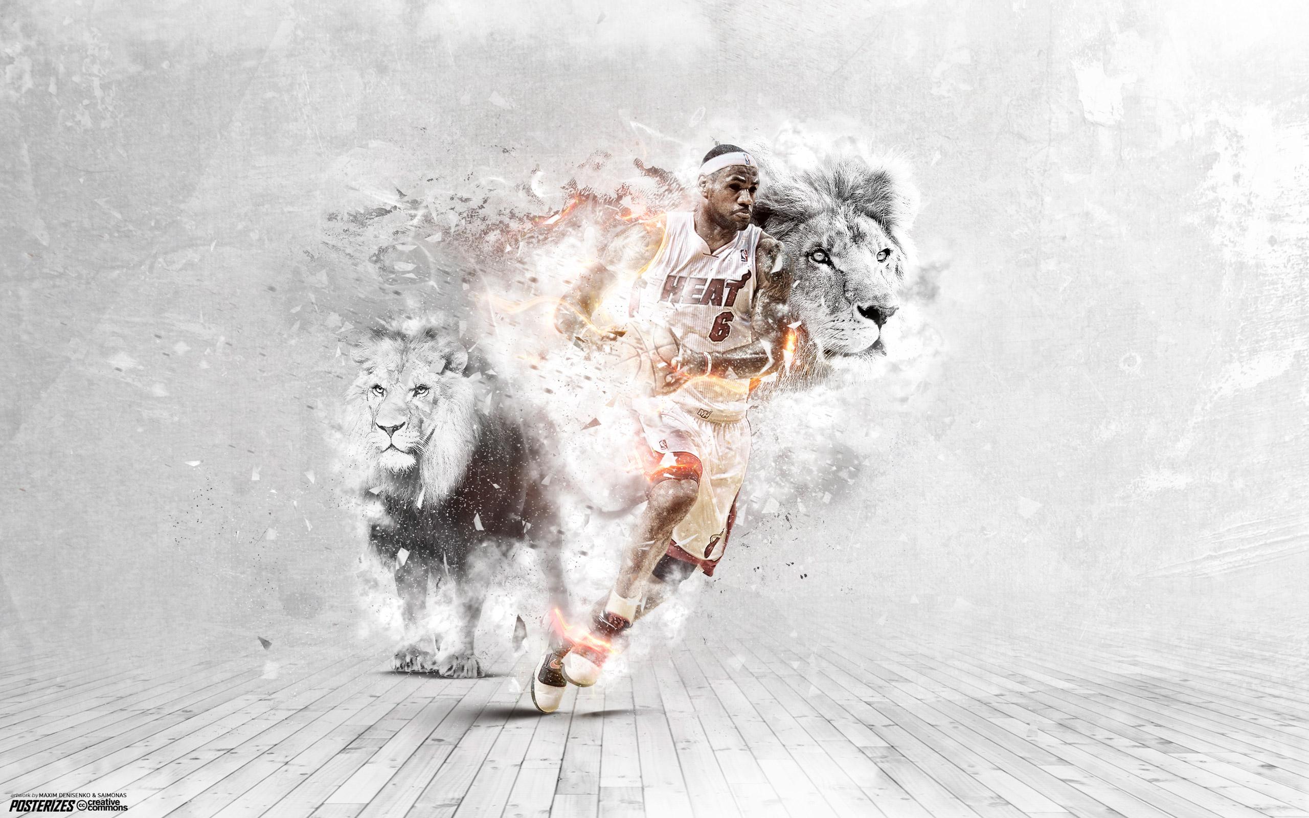 LeBron James Heat 2014 25601600 Wallpaper Basketball Wallpapers at 2560x1600