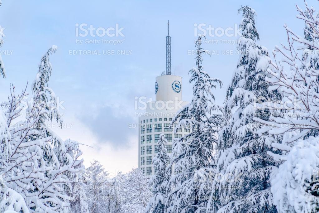 Segmenler Park In Day Time And Sheraton Hotel In Background Stock 1024x683