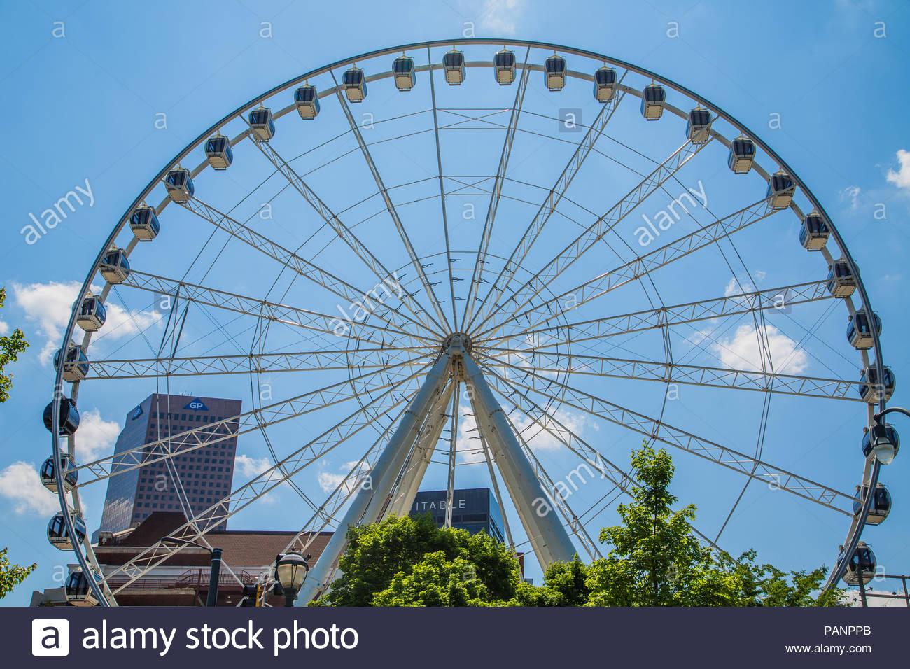 The Ferris Wheel in Atlantas Centennial Olympic Park with 1300x956