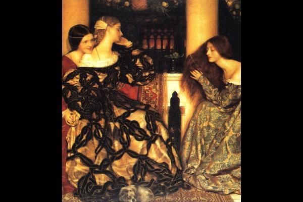 Free Download Pre Raphaelite Brotherhood Wallpaper 600x400