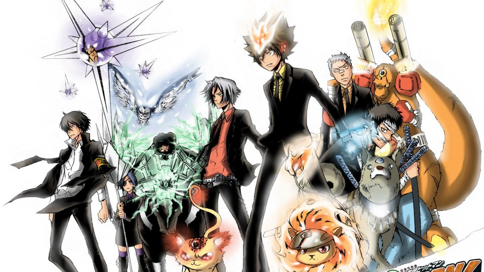 Hitman Reborn Wallpapers HD 1920x1080