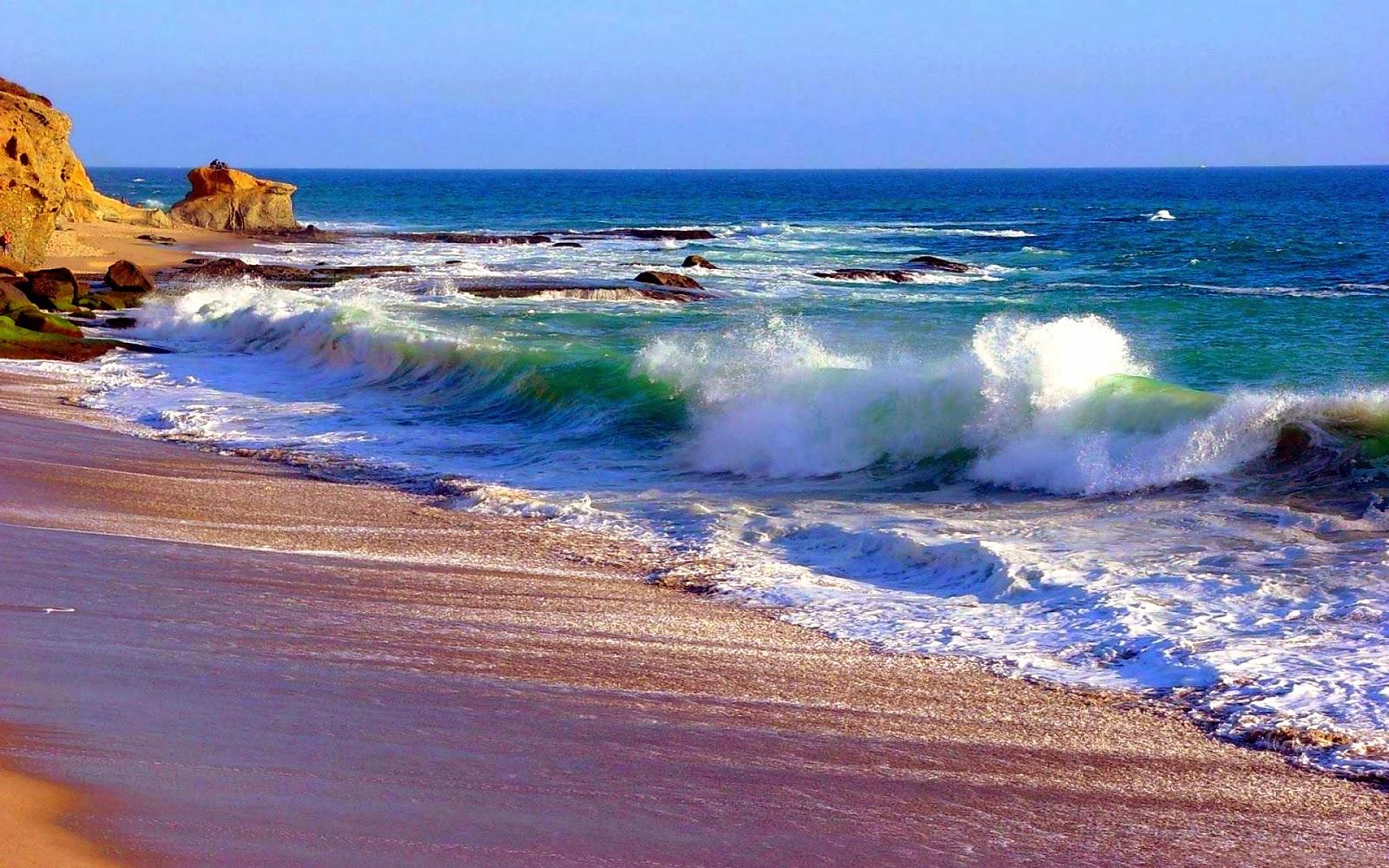 live wallpaper beach wave wallpapersafari