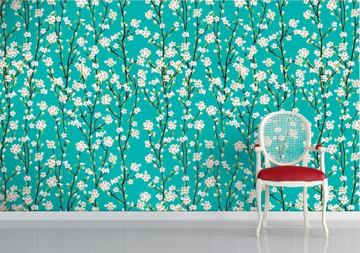 Wallpaper for Walls Designs Cherries - WallpaperSafari