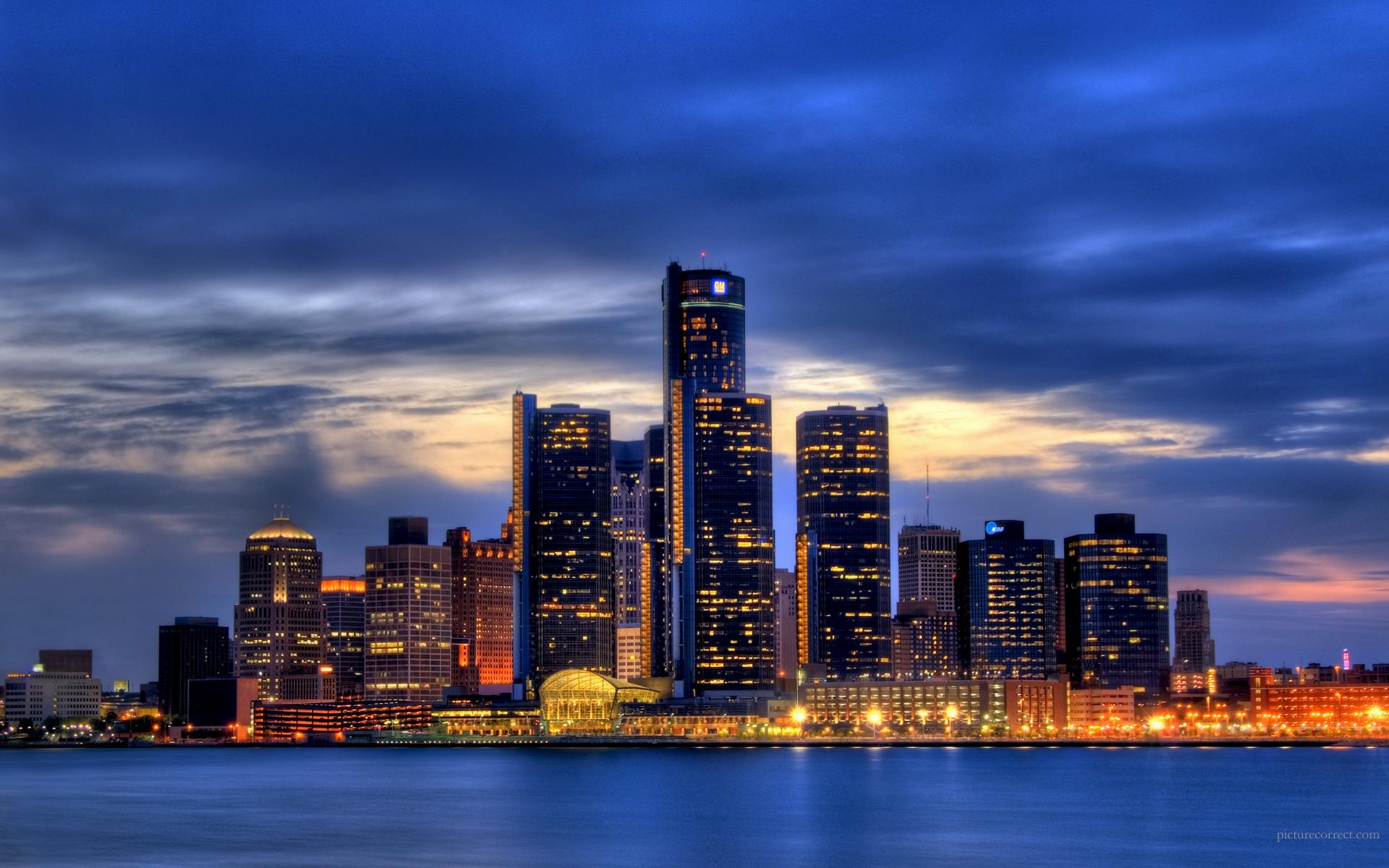 City of Detroit Wallpaper 1920x1200