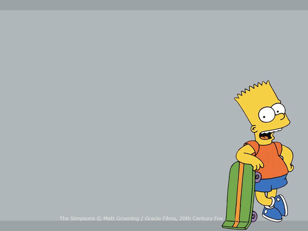 Imgenes de Bart Simpson Fondos de pantalla de Bart 1024x768