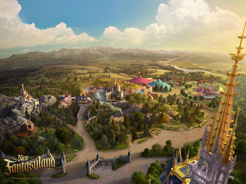 Finding Fantasyland at Magic Kingdom Park 1024x768