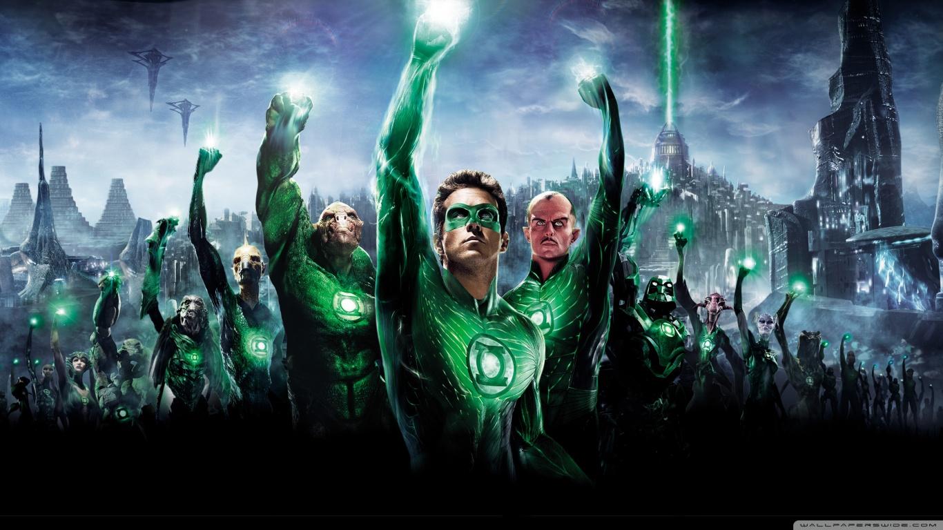 Green Lantern Movie 2011 4K HD Desktop Wallpaper for 4K Ultra 1366x768