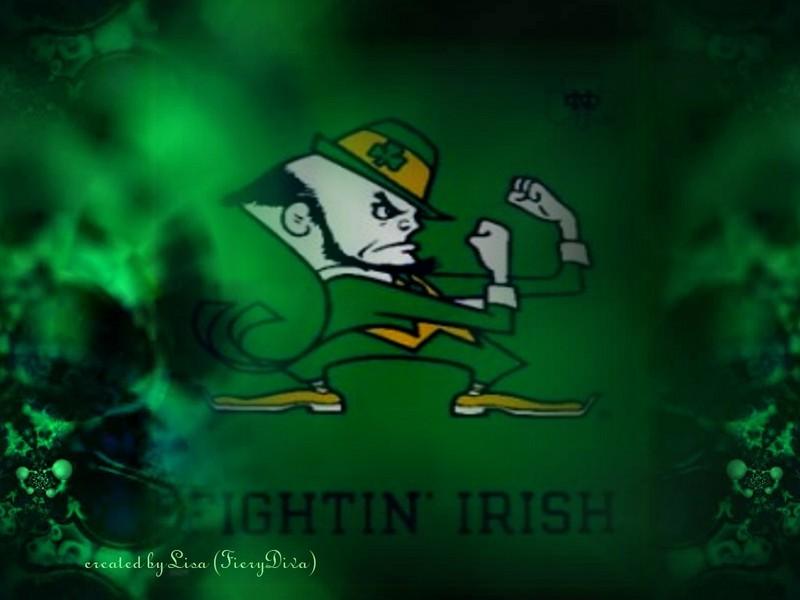 Go Back Gallery For Fighting Irish Football Wallpaper 800x600
