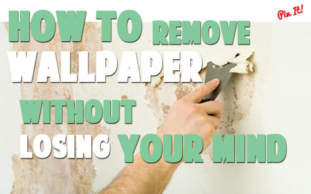Remove Wallpaper With Chemical