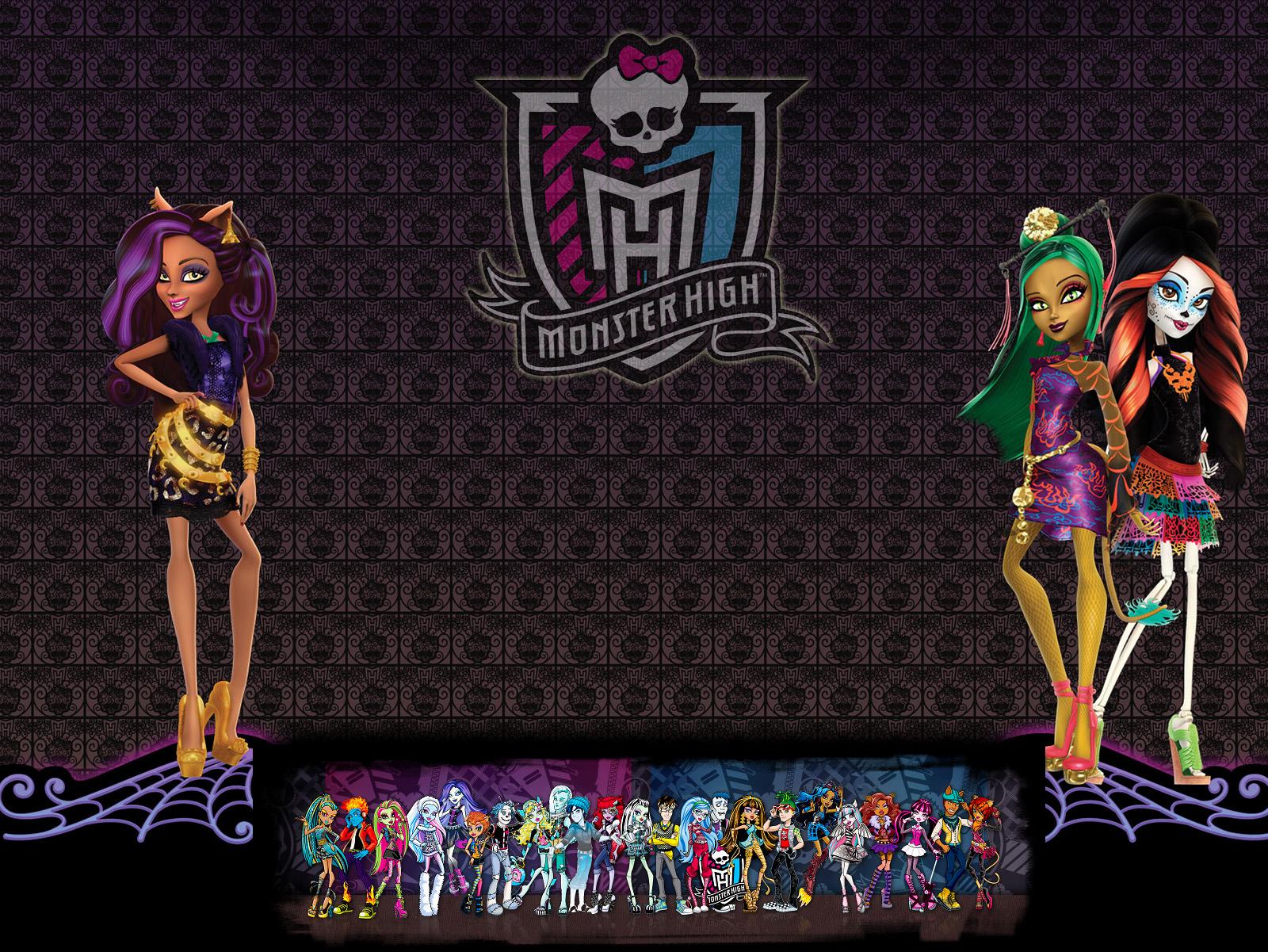 Картинки с куклами монстр хай новые серии