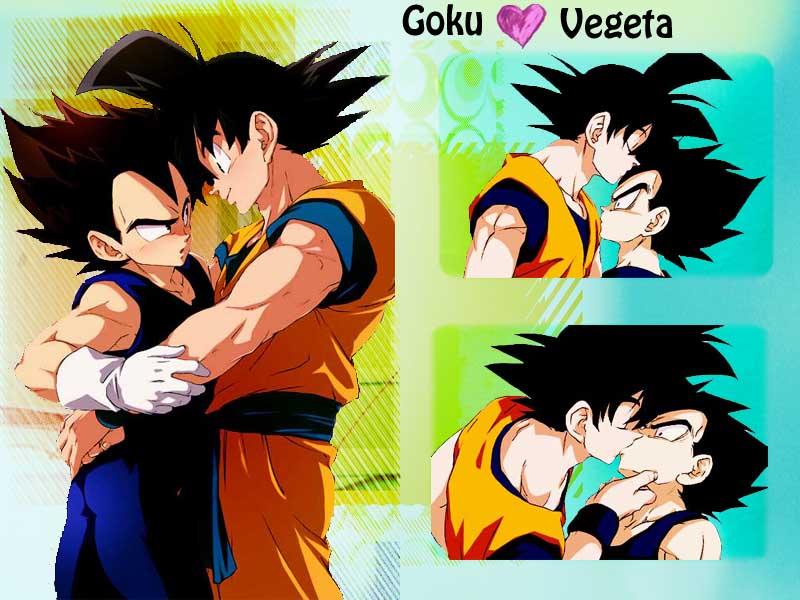 Vegeta and Goku yaoi Wallpaper by Amersss 800x600