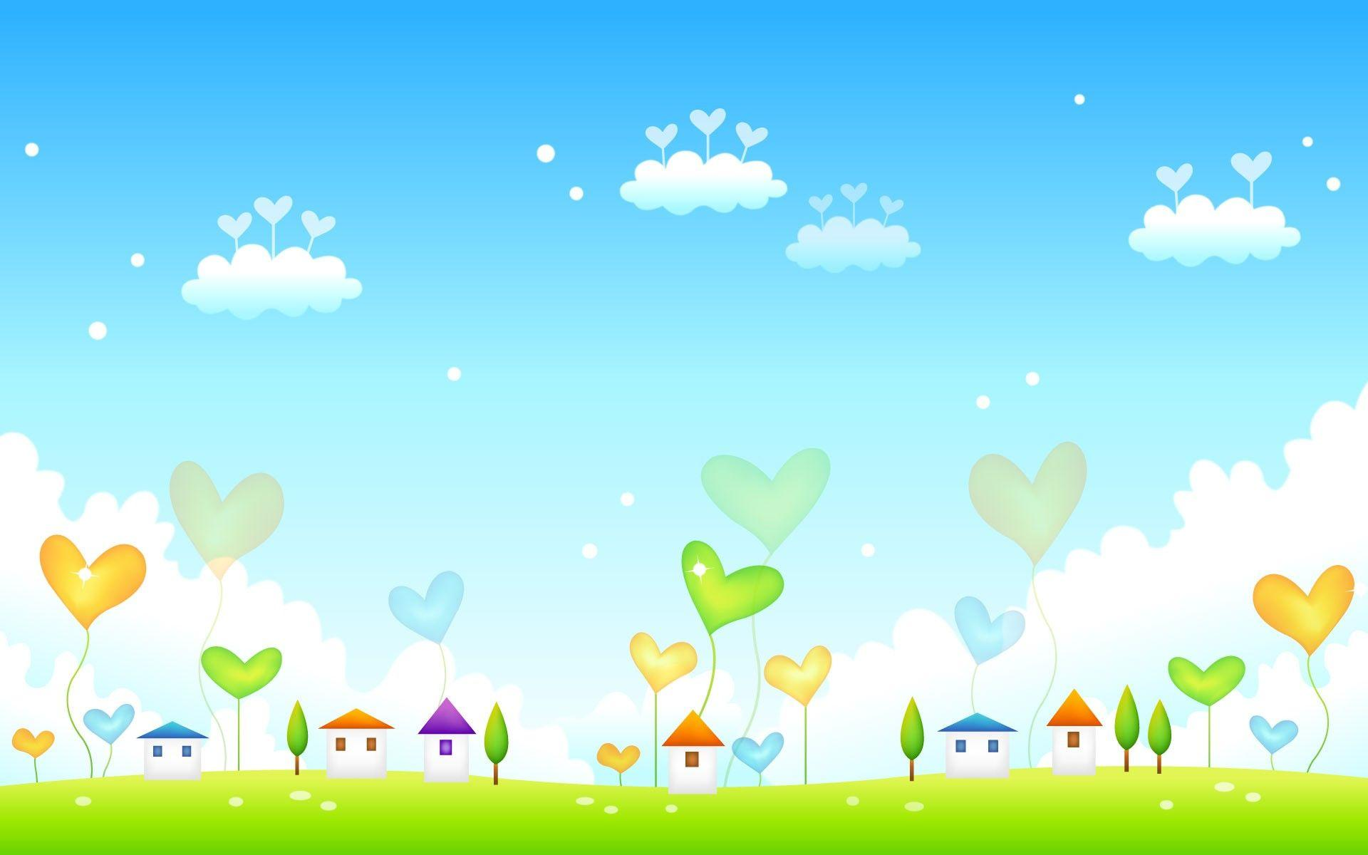 Cute Spring Backgrounds 1920x1200