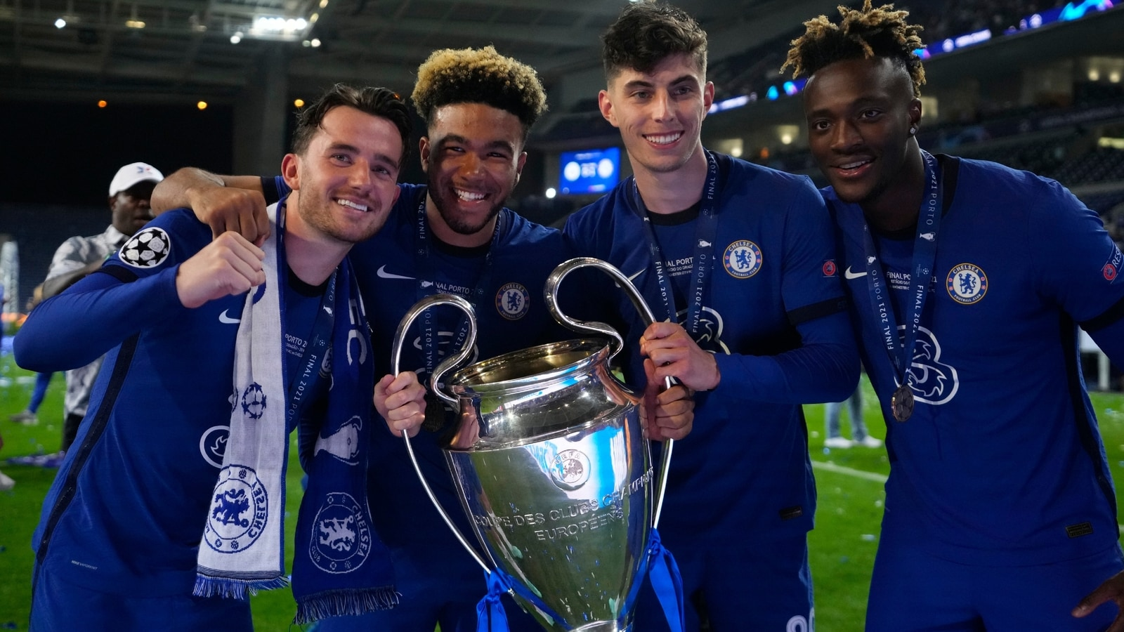 Chelsea beat Manchester City to win UEFA Champions League   In 1600x900