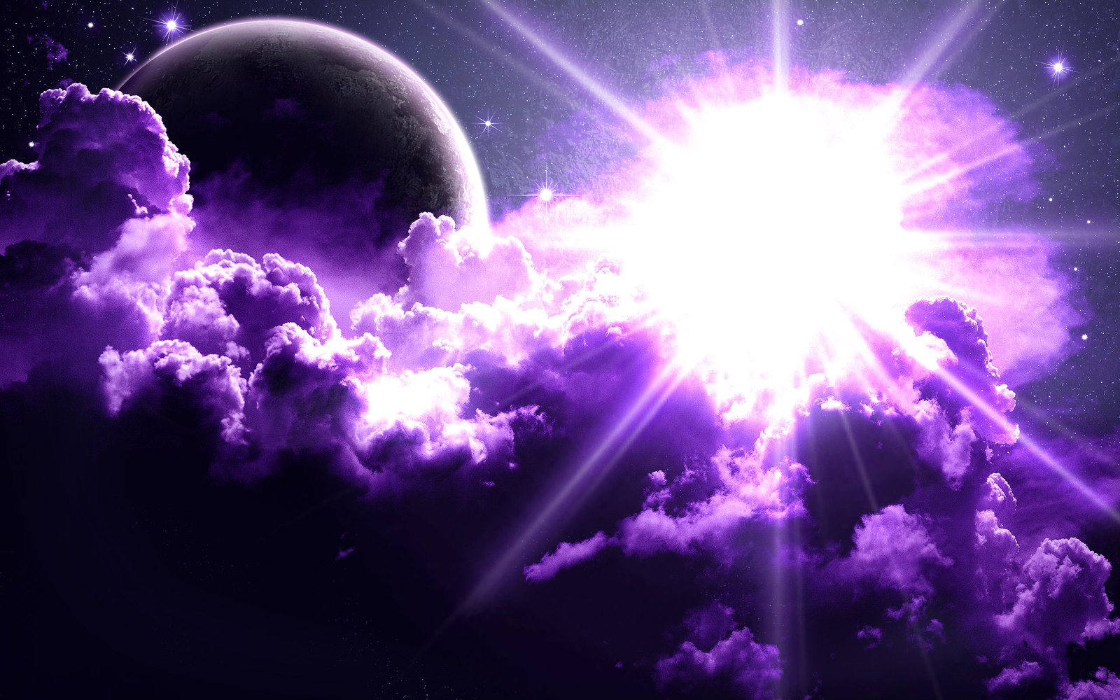 Hd Background Wallpaper 800x600: HD Purple Space Wallpaper