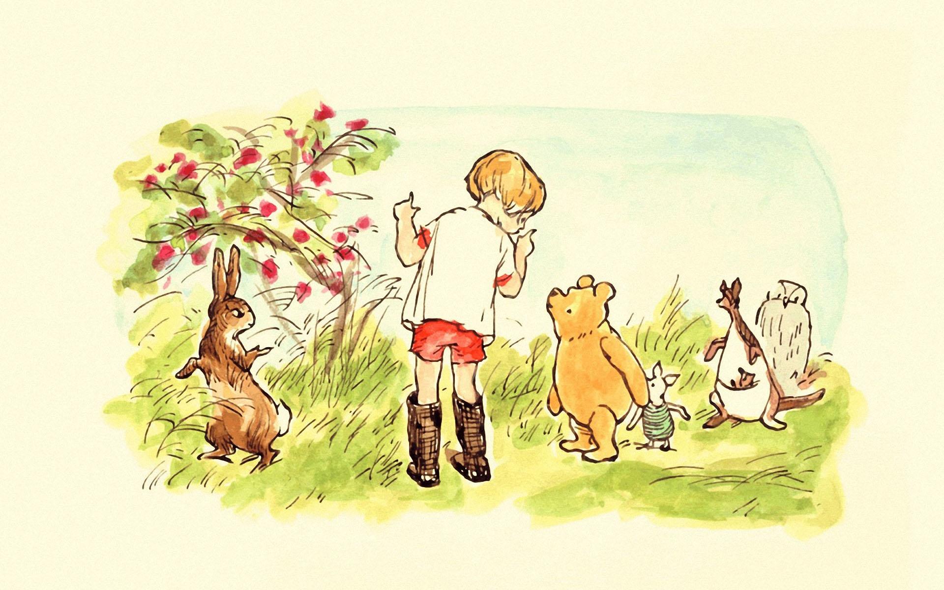 Winnie the Pooh Fall Wallpaper - WallpaperSafari