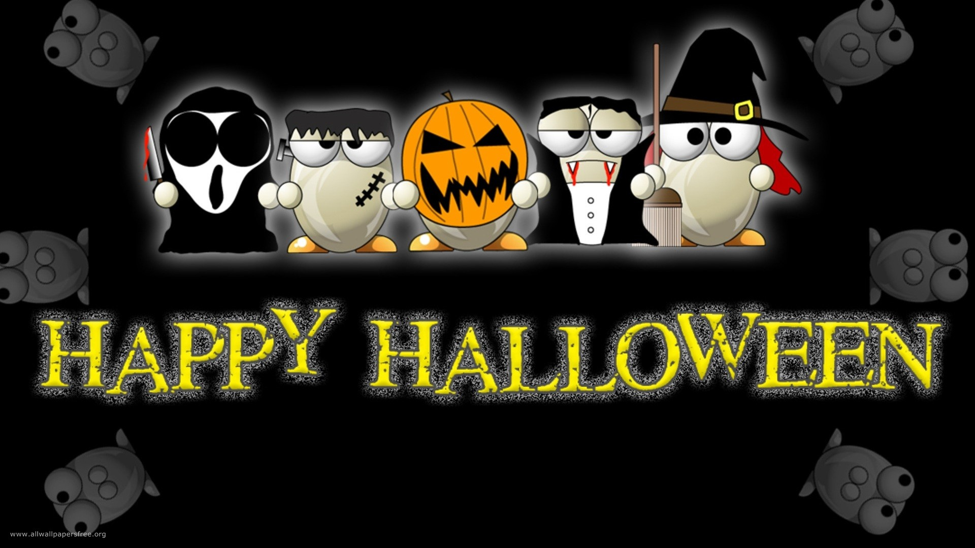 happy halloween picture hd wallpaper FREE 4U WALLPAPERS 1920x1080