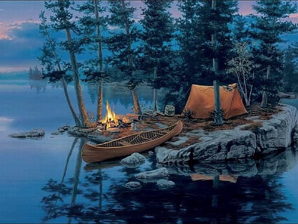 36+ Camping HD Wallpaper on WallpaperSafari