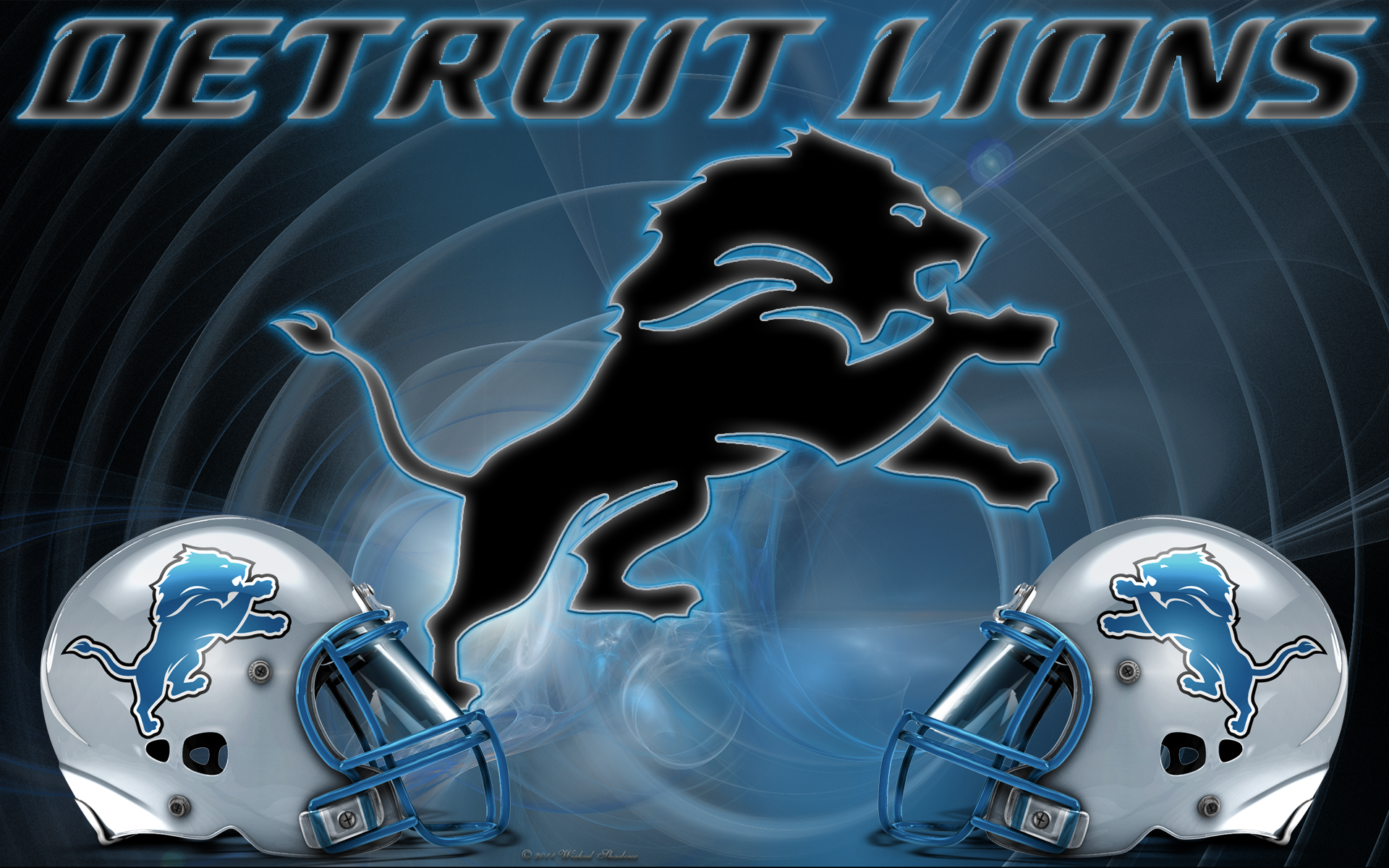 Wallpapers By Wicked Shadows Detroit Lions Wicked Wallpaper 2011 1920x1200